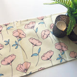Table Runner / Yellow Puppies-Table Runner-The Optimist