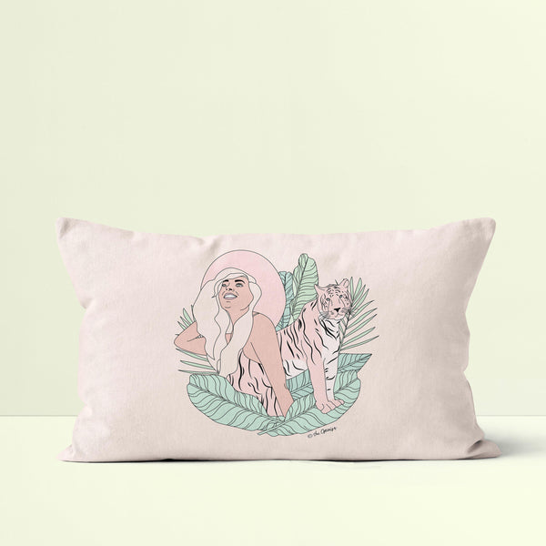 Throw Pillow / Animal Instinct - Tiger