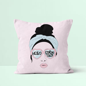 Throw Pillow / Hello Gorgous-Throw Pillow-The Optimist