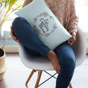 Throw Pillow / Let Equality Bloom-Throw Pillow-The Optimist