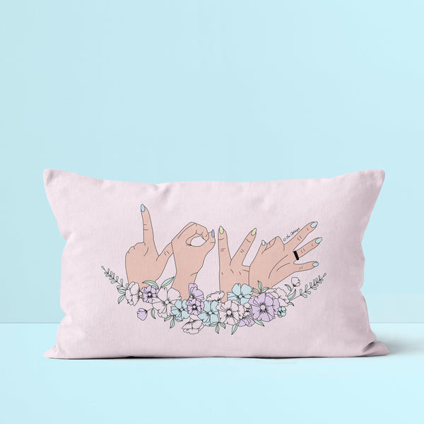 Throw Pillow / Love Is Love