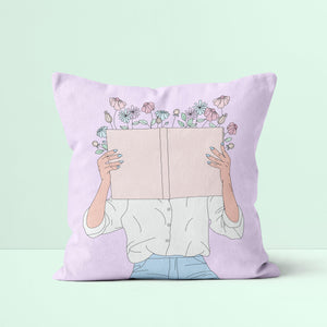 Throw Pillow / Read All About It-Throw Pillow-The Optimist