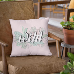 Throw Pillow / WILD-Throw Pillow-The Optimist