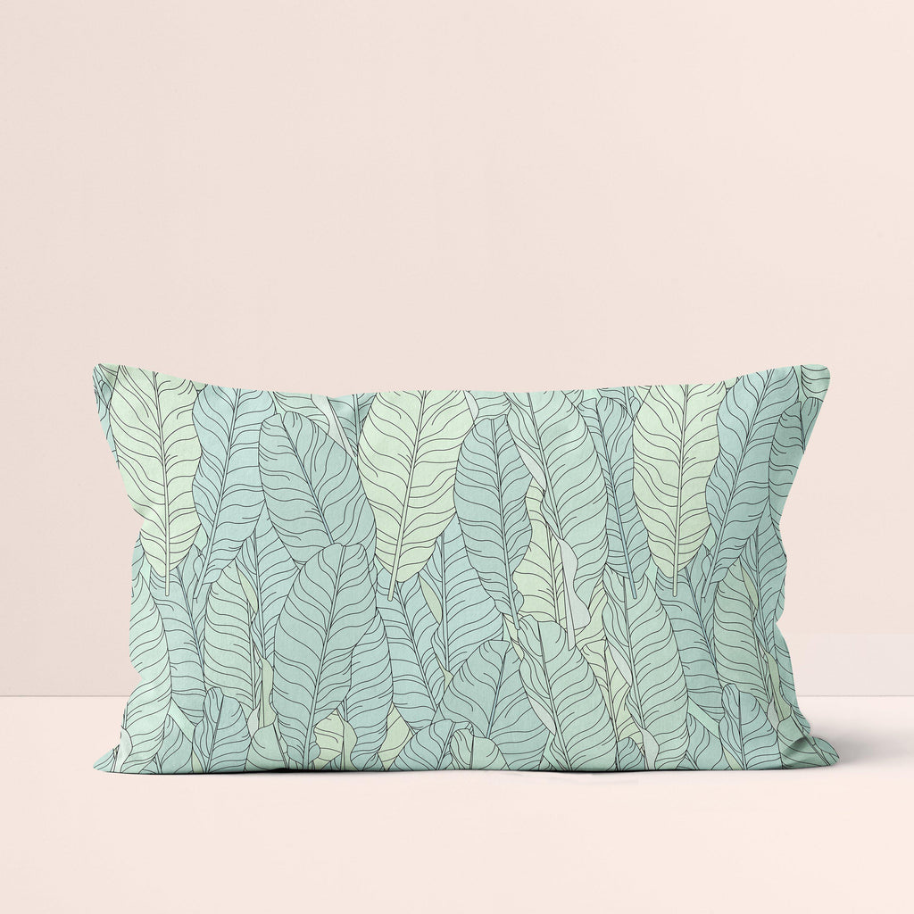 Throw Pillow / Wild Leaves-Throw Pillow-The Optimist