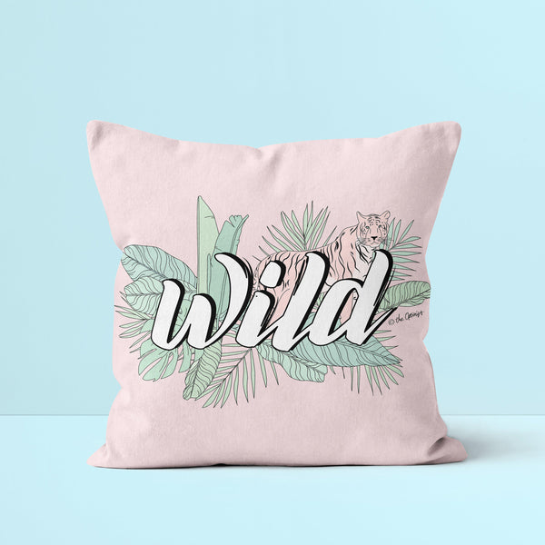 Throw Pillow / WILD