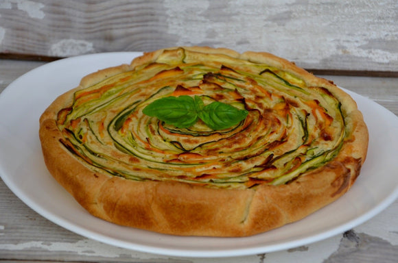 👩‍🍳🥕 TARTE SPIRALE COURGETTES CAROTTES 🥕👩‍🍳