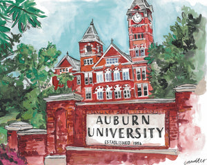 Auburn University Samford Hall Print