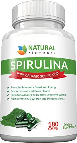Spirulina Capsules | 30 Day Supply