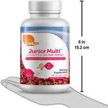 Load image into Gallery viewer, Zahler Junior Multi, Chewable Multivitamin and Mineral Supplement for Kids, Childrens Great Tasting Cherry Chewable Tablets, All Natural Color and Flavor, 180 Chewable Tablets