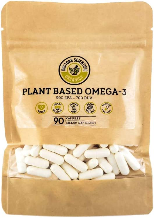 Vegan Omega 3 | Algae Supplement | 90 Capsules