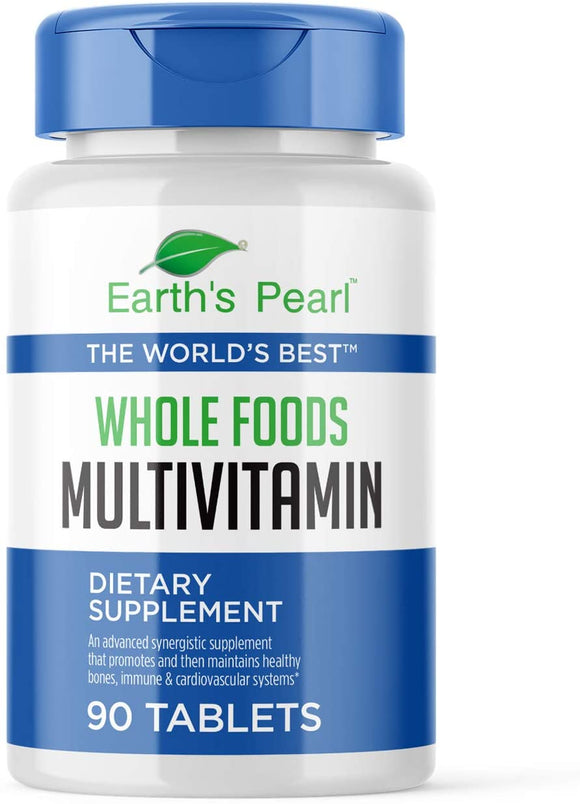 Vegan Whole Foods Multivitamin with Probiotics and Digestive Enzymes | 90 Tablets