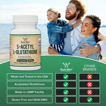 Load image into Gallery viewer, S-Acetyl L-Glutathione 100 mg 60 Capsules | Acetylated Glutathione