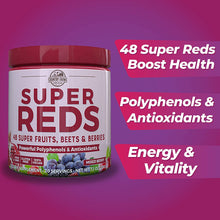 Load image into Gallery viewer, Country Farms Super Reds Energizing Polyphenol Superfood, Antioxidants, Drink Mix, 20 Servings