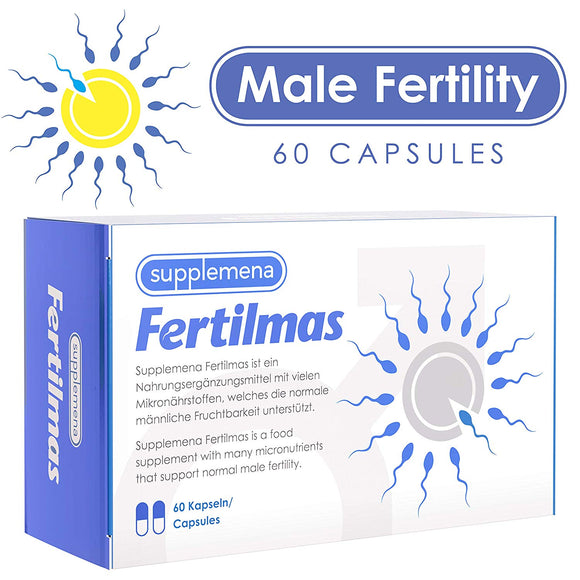 Fertilmas Selenium Male Fertility Libido Supplements | 60 Capsules