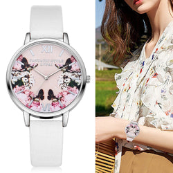 Pretty Ladies Butterfly Blossom Watch