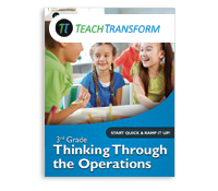 3rd Grade Thinking Through the Operations (Print)
