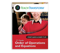 5th Grade Order of Operations (Print)