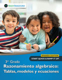 3rd Grade Algebraic Reasoning (Spanish)