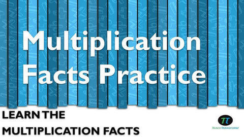 Multiplication Facts Practice (Spanish)