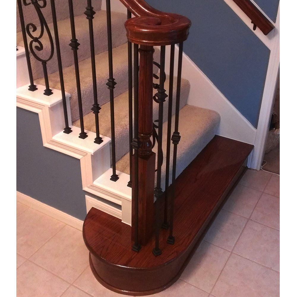 Pintop Stair Newel Post