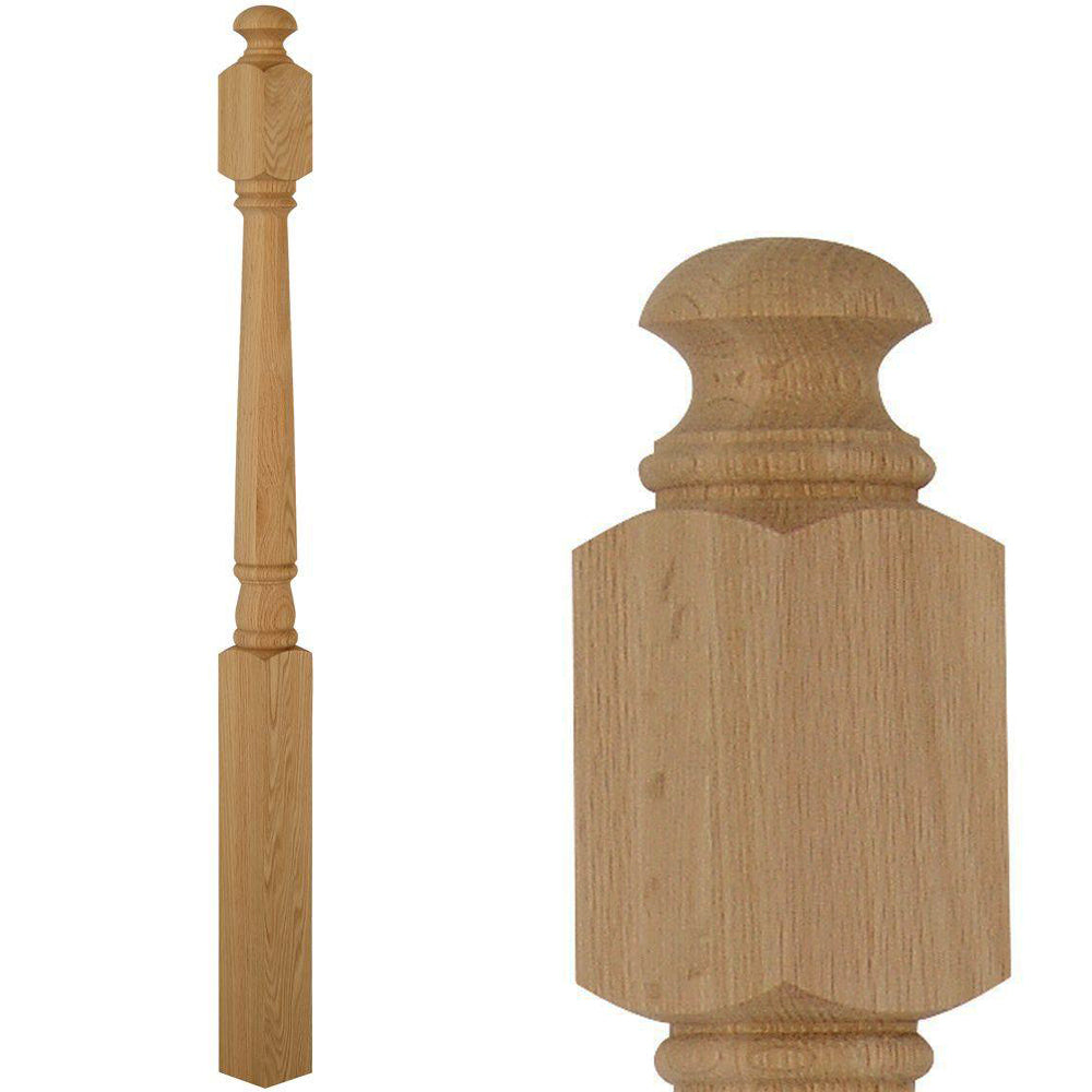 4040 Wood Stair Newel Post
