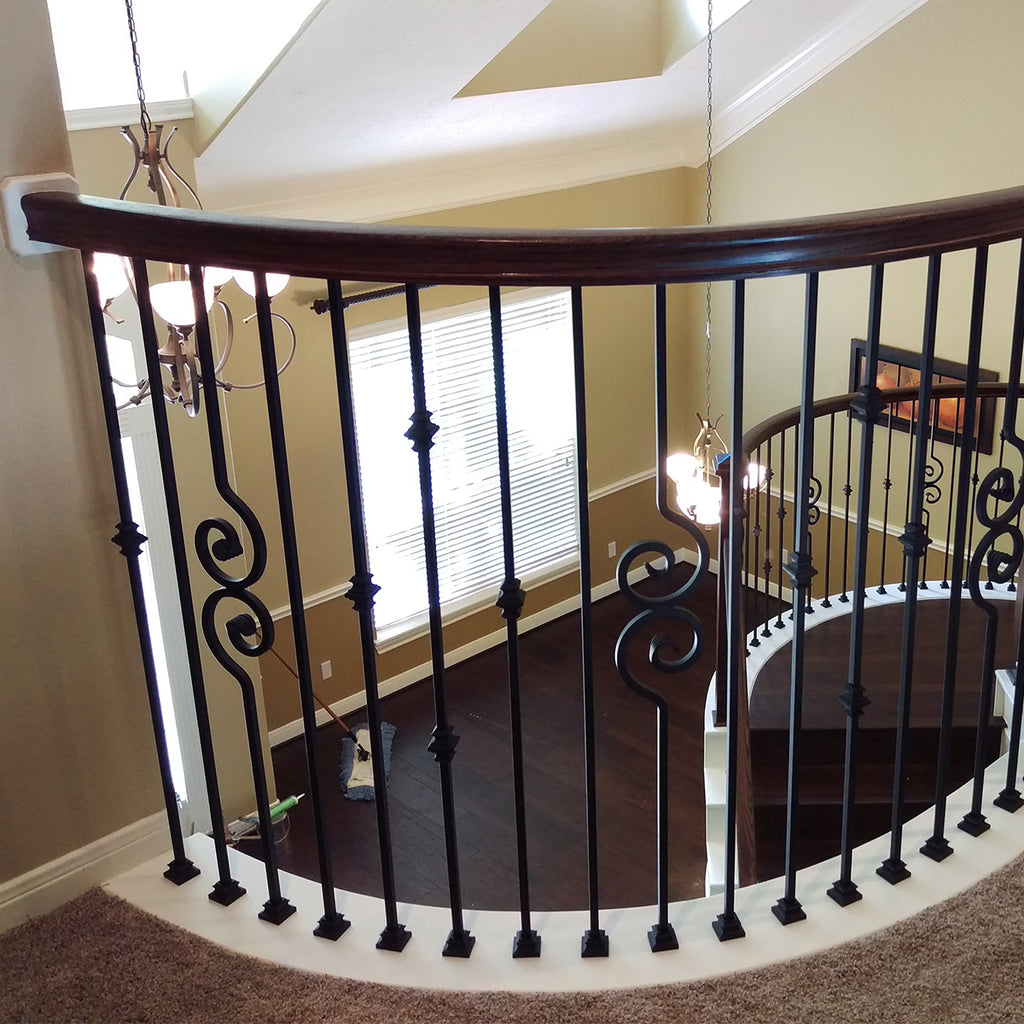 6010 Handrail for Curved Stairs