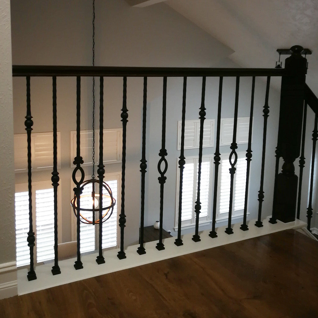 Flat Shoe Metal Balusters with Set Screw