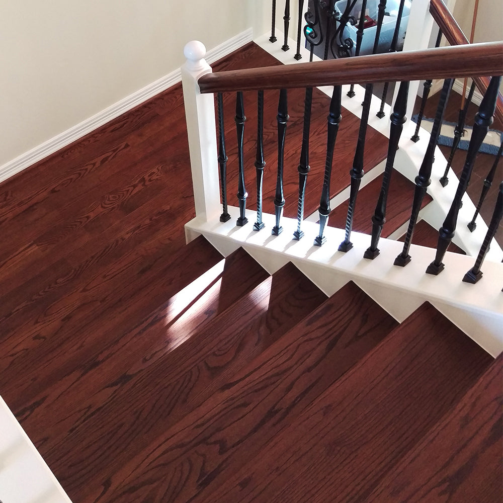 Affordable Stair Hardwood Treads