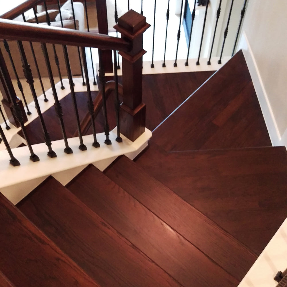 Affordable Hardwood Stair Treads