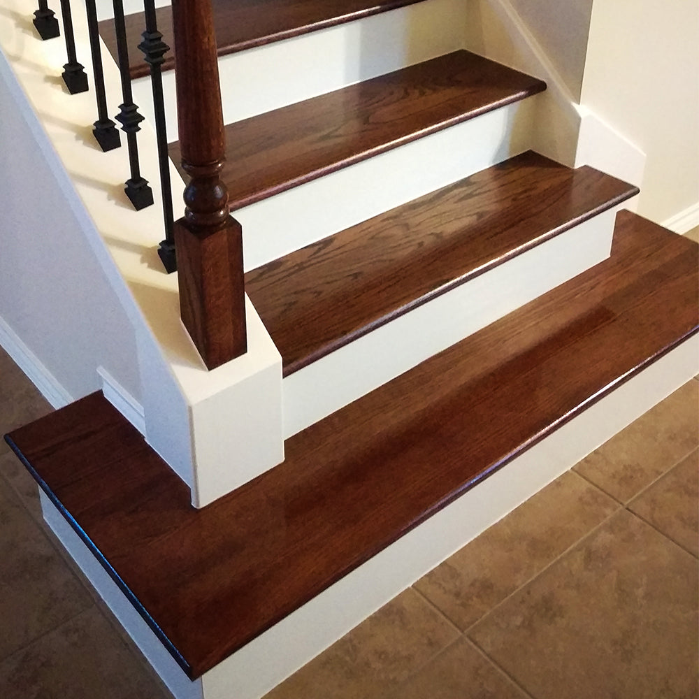 "13"" Affordable Stair Hardwood Treads"
