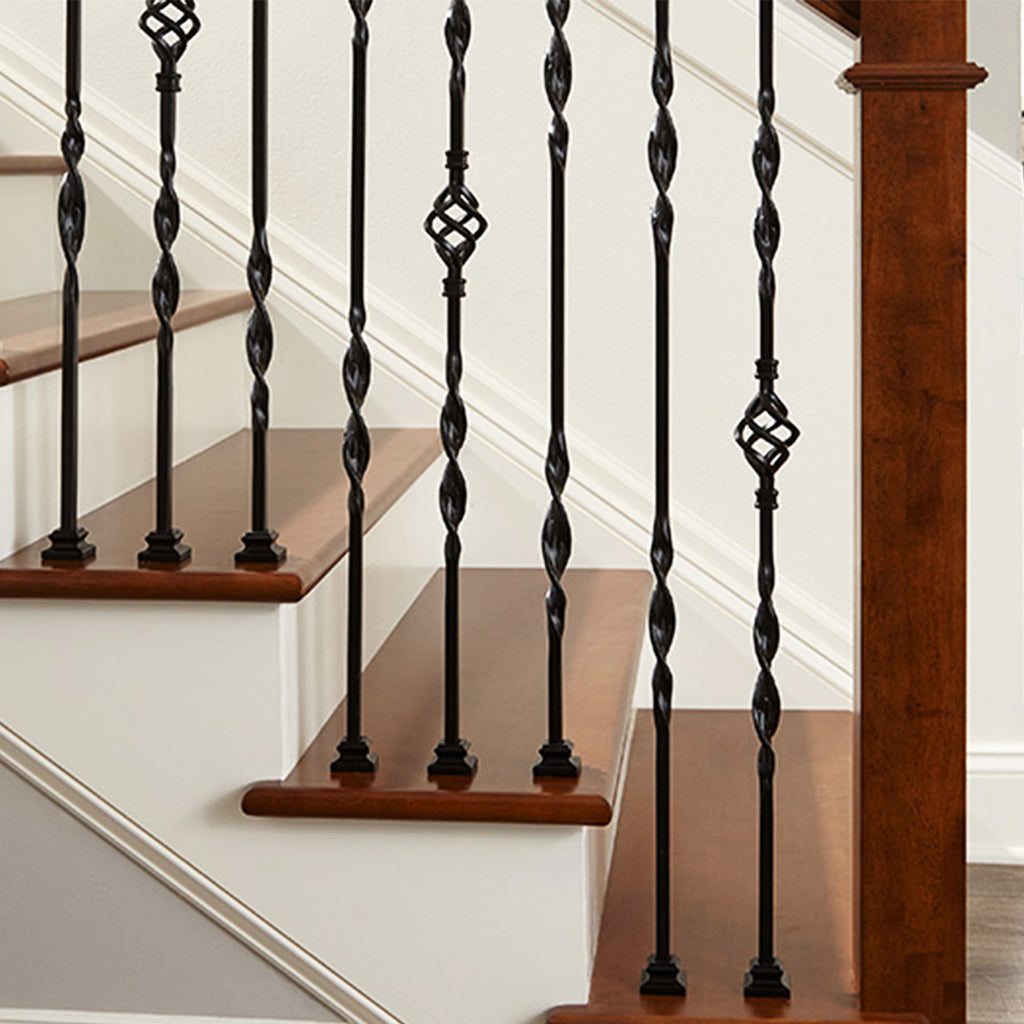 Ribbons Series Stair Iron Baluster