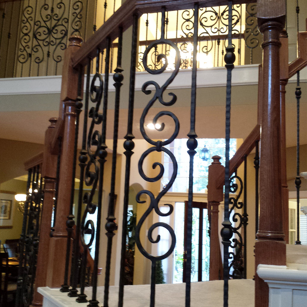 Hammered Iron Baluster