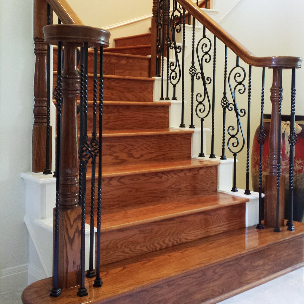 Stair Railing Hardwood System