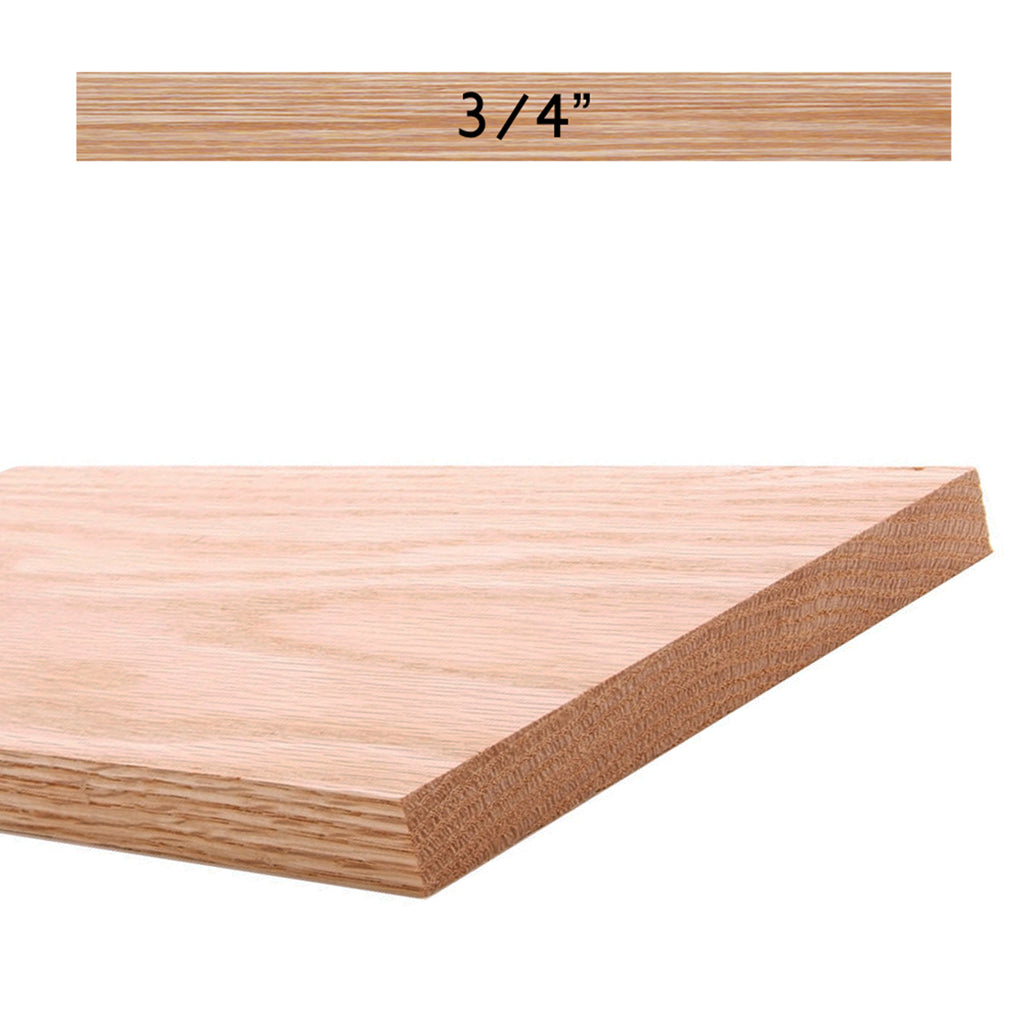 "Affordable Solid Wood Stair Riser 7-1/4"" Stain Grade"