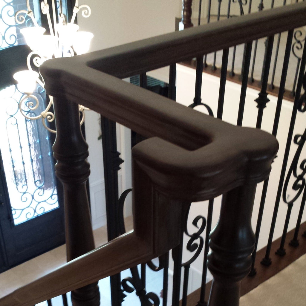 Stair Level Quarter Turn Handrail Fitting