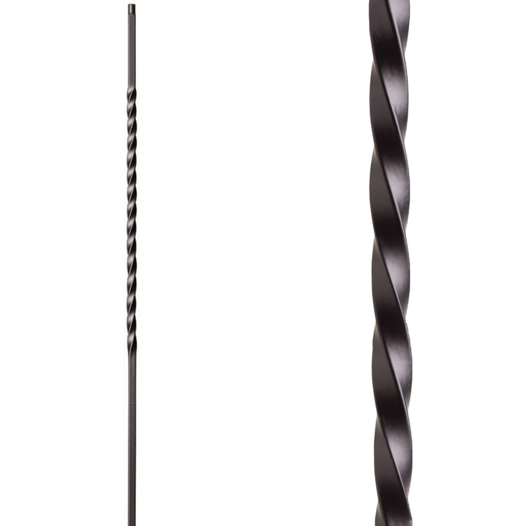 Stair Long Twist Wrought Iron Baluster