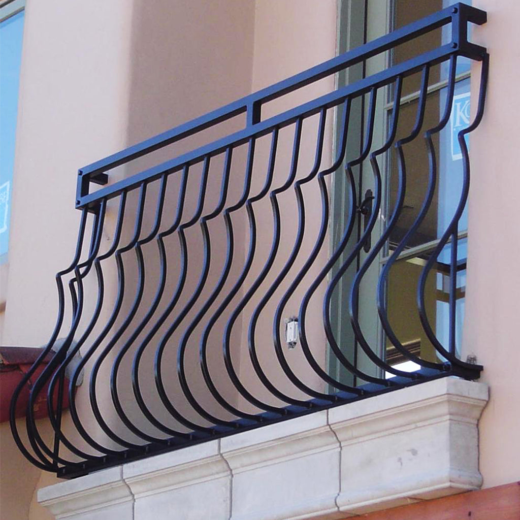 Plain Stair Belly Iron Baluster