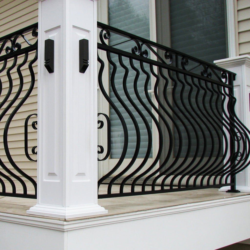 Plain Belly Staircase Iron Baluster