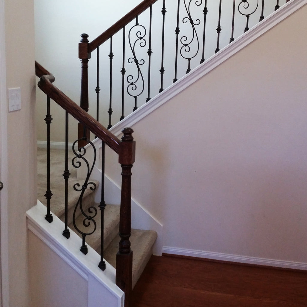 "Affordable Stair Left ""S"" Turn Stair Handrail Fitting"