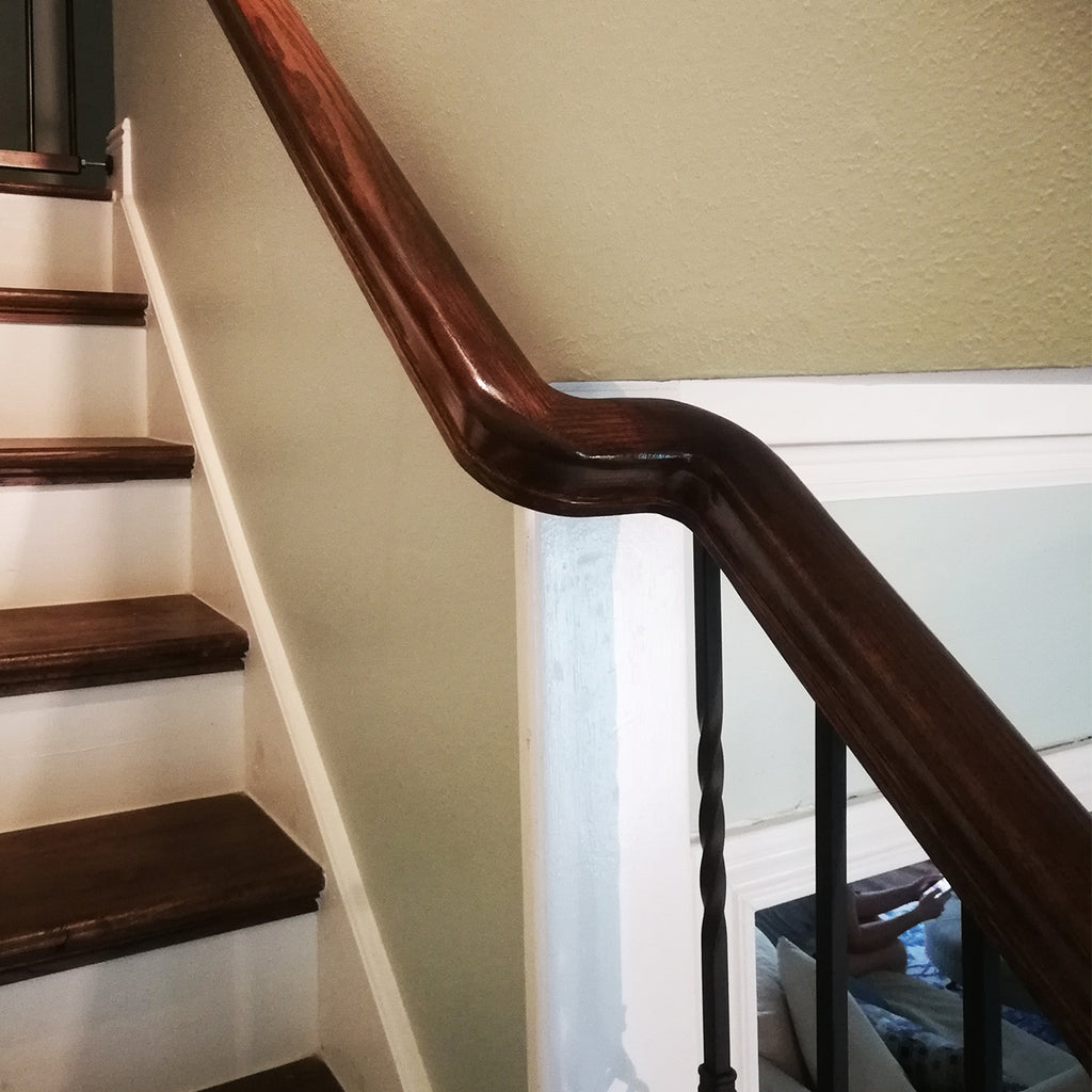 Wood Stair Handrail Fitting