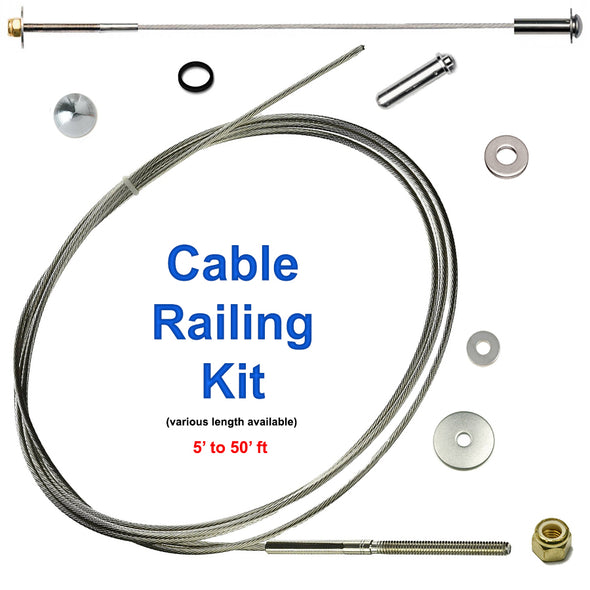 Affordable Stainless Steel Cable Railing Kit