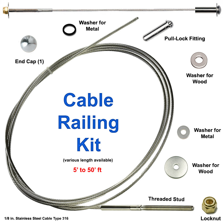 Stainless Steel Cable Railing Kit SL-10205