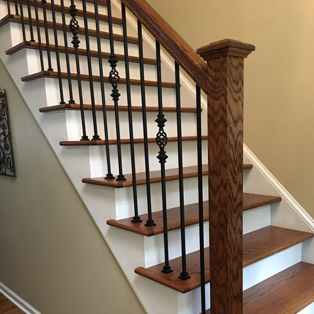 Basket with Knuckles Stair Iron Baluster