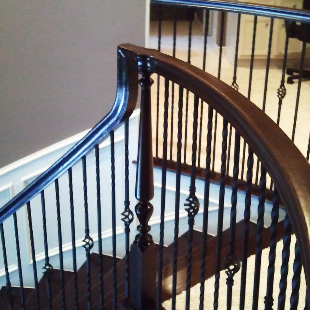 Cheap Railing Tandem Cap Stair Handrail Fitting