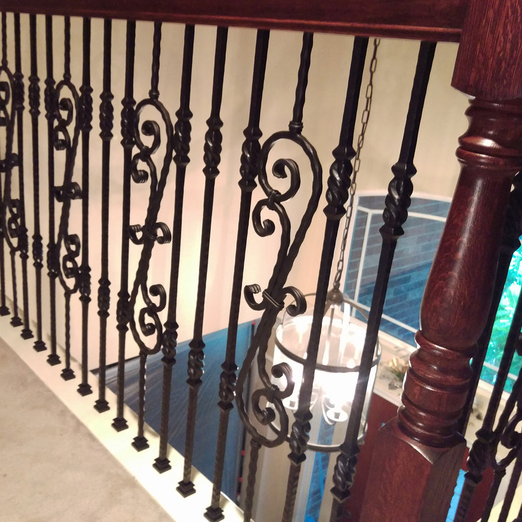 Scroll Iron Baluster