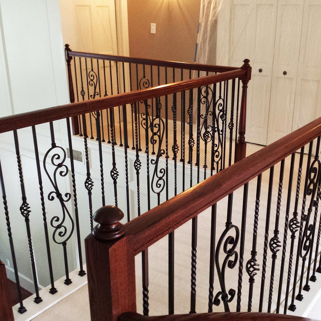Metal Spindles for Staircase Iron Balusters