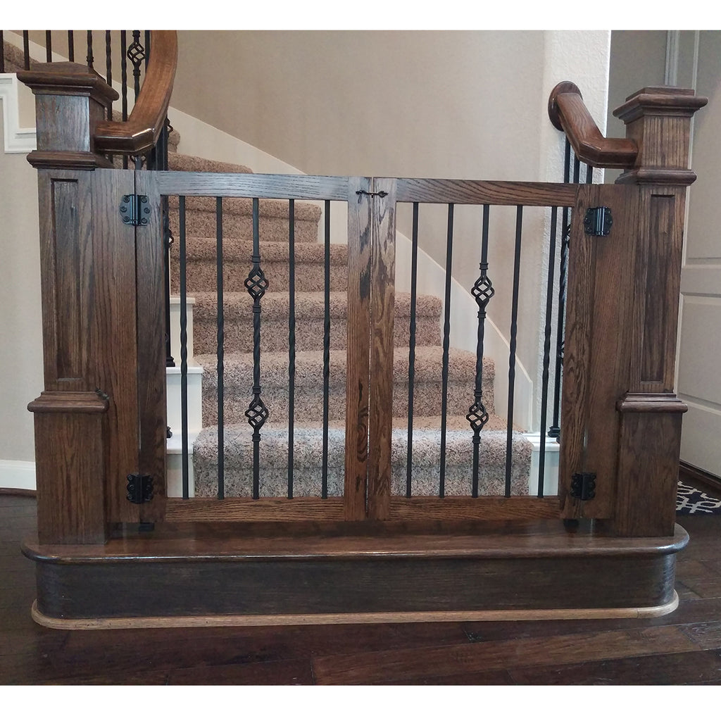 Stair Double Basket Iron Baluster