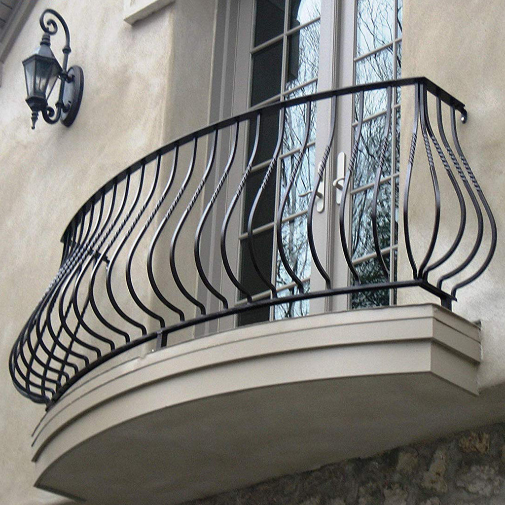 Metal Belly Wrought Iron Baluster
