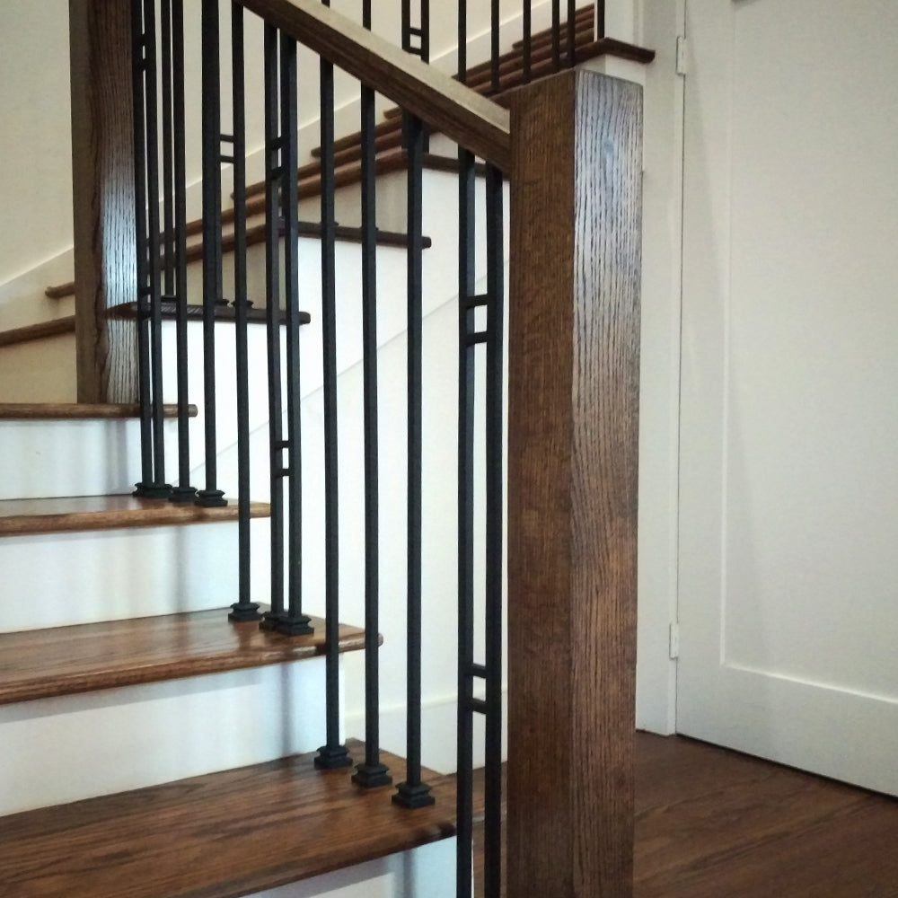 "3 1/4"" Modern Blank Newel Post"