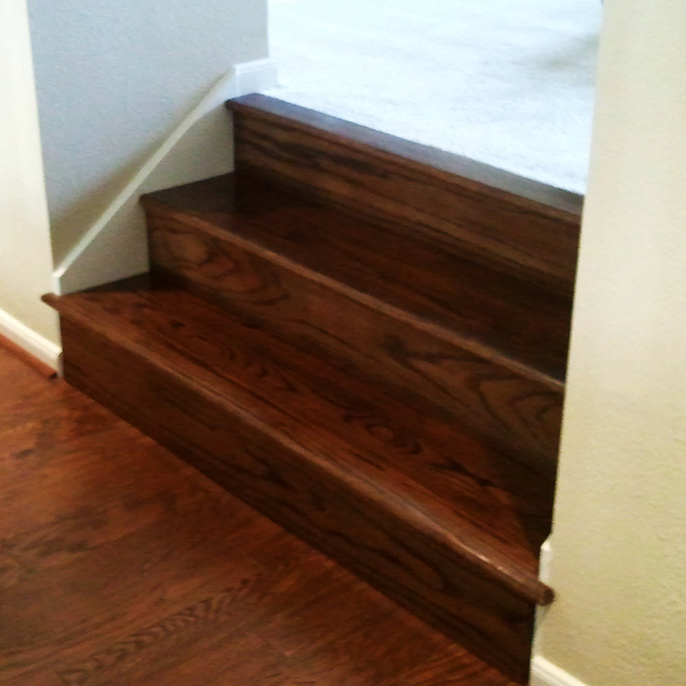 Affordable Hardwood Treads